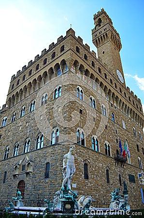 Piazza della Signoria in Florence - Italy