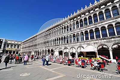 Piazza di San Marco, Venice Editorial Photo
