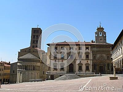 Piazza Grande, Arezzo ( Italia )