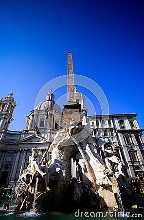 Piazza Navona (Navona Square) - Rome