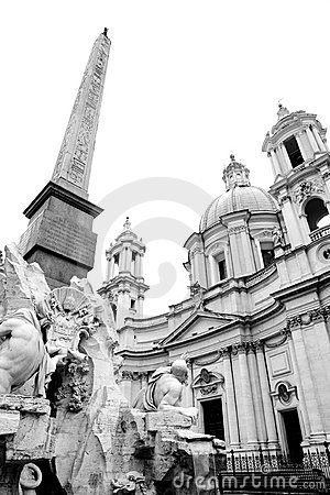 Free Piazza Navona, Rome Royalty Free Stock Images - 8142119