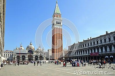 Piazza San Marco Venezia Editorial Image
