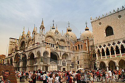 Piazza San Marco, Venice Editorial Stock Image