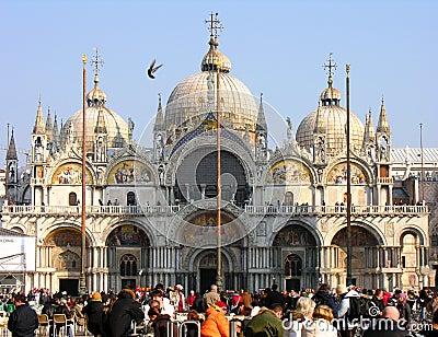 Piazza San Marco, Venice Editorial Image