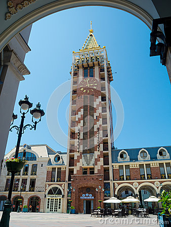 Piazza tower in Batumi Editorial Stock Photo