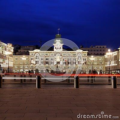 Piazza Unita d Italia, Trieste, Italy