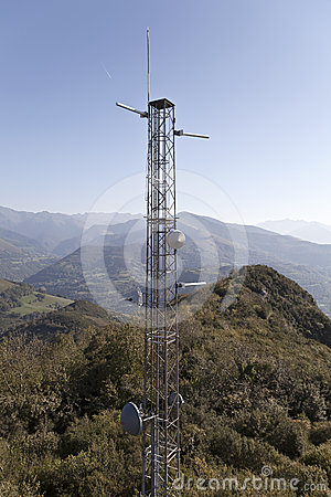 Pic du Jer Telecommunications Antennas