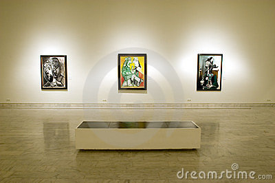 Picasso Museum of Barcelona Editorial Photo