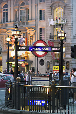 Piccadilly Circus London Editorial Photography