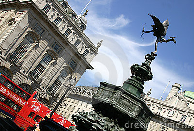 Piccadilly Circus - London - England