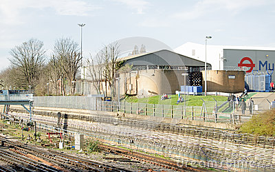 Piccadilly Line Operations Centre, London Editorial Image