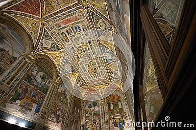 Piccolomini  Library Siena Duo