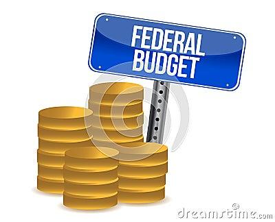 Pièces de monnaie de budget fédéral