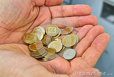 Pièces de monnaie de l Israël