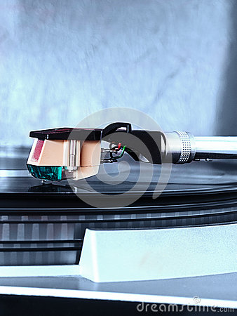 Free Pick-up Arm Of A Record Player Royalty Free Stock Image - 41467216