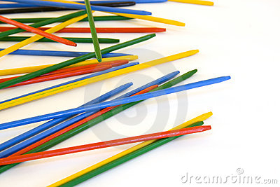 Pick Up Sticks Games Royalty Free Stock Photo - Image: 5530815
