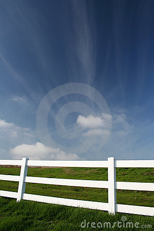 Picket Fence Stock Image - Image: 1034731