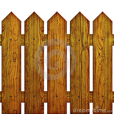 Free Picket Fence Seamless Stock Photography - 6755712