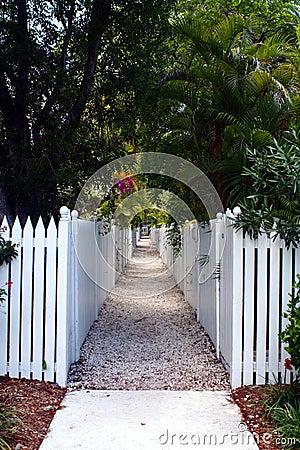 Picket Fence Walkway