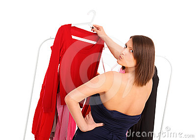Picking clothes