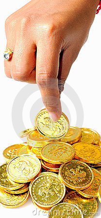Picking the coin