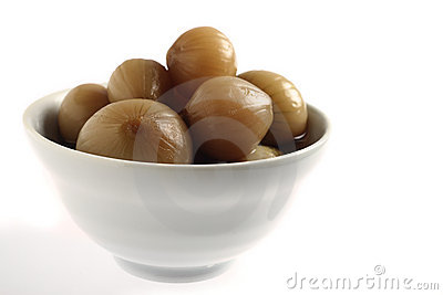 Pickled onion bowl