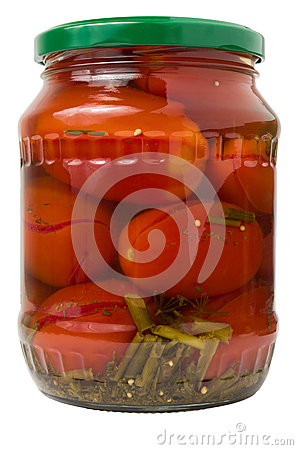 Pickled Red Tomatoes Royalty Free Stock Photography - Image: 37466447
