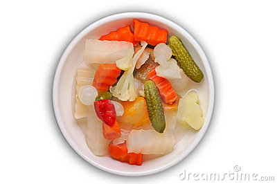 Pickles with clipping path