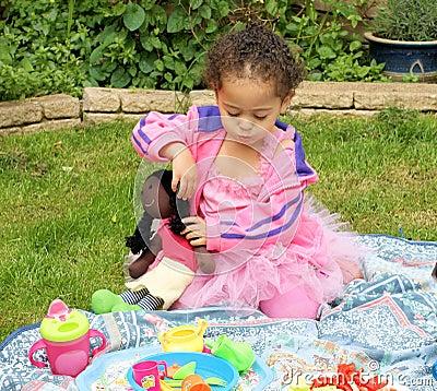 Picknick in roze