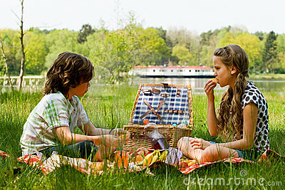 Picknickspaß