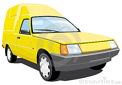 Pickup kolor żółty