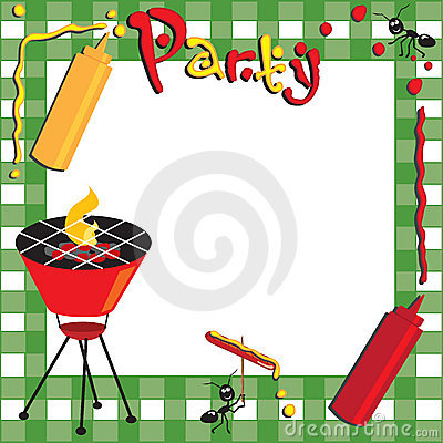 Free Picnic And BBQ Invitation Royalty Free Stock Photo - 14193835