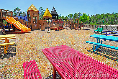 Picnic Area at Playground