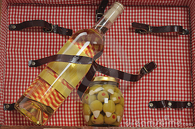 Picnic Basket. Stock Images - Image: 12219244