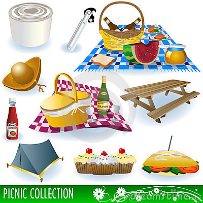 Free Picnic Collection Stock Images - 13168734