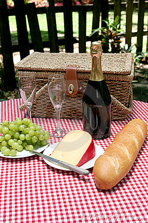 Free Picnic In The Country Stock Photography - 829032