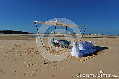 Picnic Lunch on Bazaruto Island, Mozambique