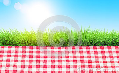 Picnic outdoors Stock Photo