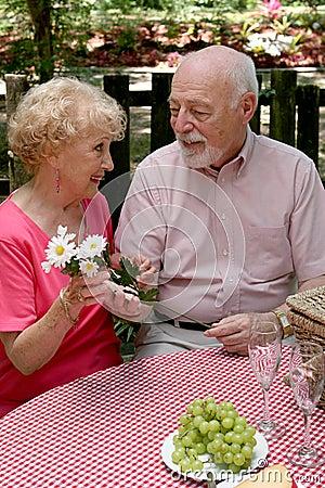 Picnic Seniors - Flowers For Her