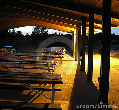 Picnic tables After hours