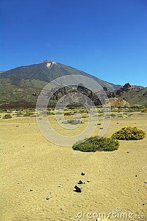 Pico del Teide - vertical