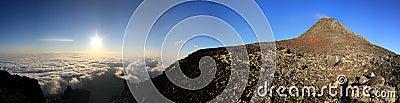 Pico Sunrize Panorama