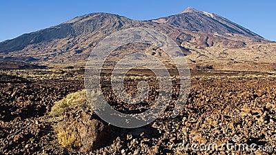 Pico Viejo and Teide