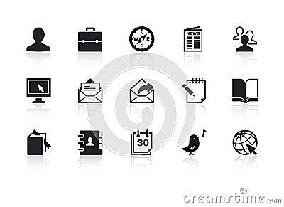 Pictogrammen 2 van het Web