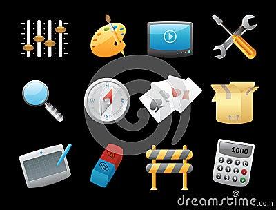 Pictogrammen voor interface