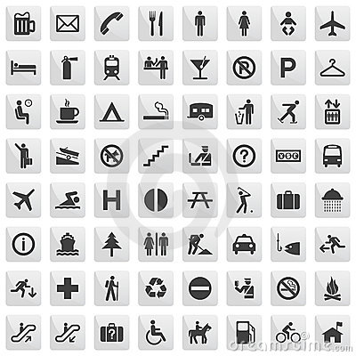 Free Pictograms Stock Images - 8183034