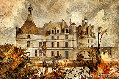 Pictorial castle
