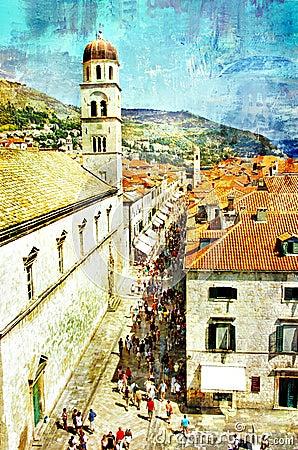 Pictorial Dubrovnik