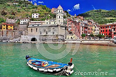 Pictorial Ligurian coast
