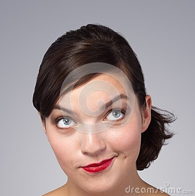 Picture of a beautiful woman s face